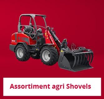 Assortiment Agri Shovels