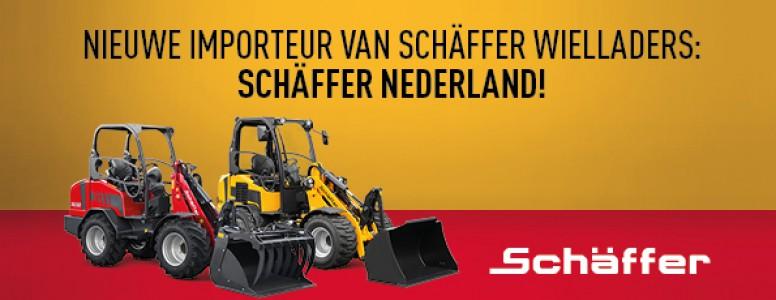 Schäffer Nederland nieuwe importeur voor Schäffer wielladers!